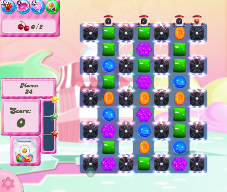 Candy Crush Saga level 2796