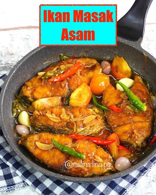Ikan masak asam, resepi ikan masak asam,ikan masak asam utara style,lauk bersahur,resepi ikan mudah dan sedap,