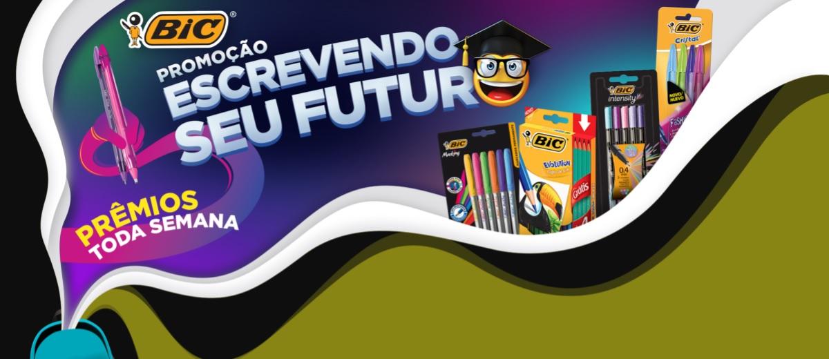 Participar Promoção BIC 2021 Escrevendo Seu Futuro Bolsa de Estudos 30 Mil e Notebook Toda Semana