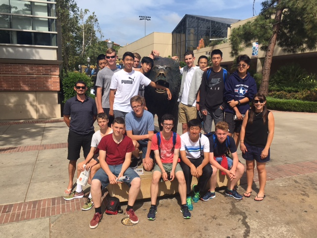 Westlake Boys' High School Universities Tour USA 2017: 2017