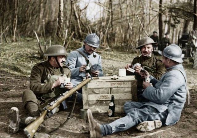 90 belas imagens colorizadas da Primeira Guerra Mundial