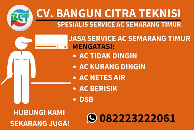 Jasa Service AC Semarang Timur Murah
