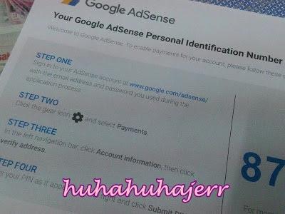 No. Pin Adsense Dah Dapat Tapi Blog Ni Takde Adsenss... Hurm!