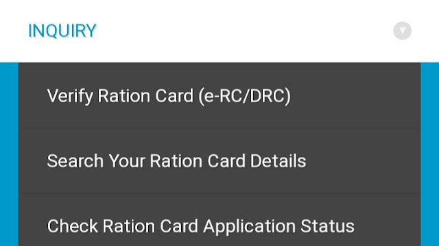 New ration card download