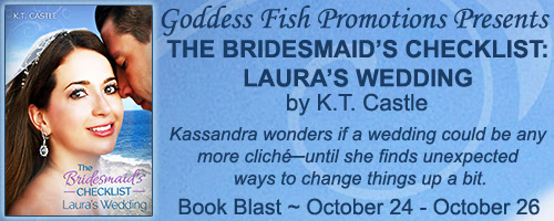 Review & Blast: The Bridesmaid's Checklist (Laura's Wedding) by K.T. Castle