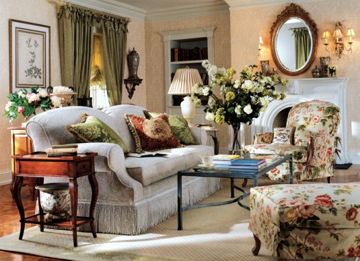 Classic English Floral Chintz - Comfortable home