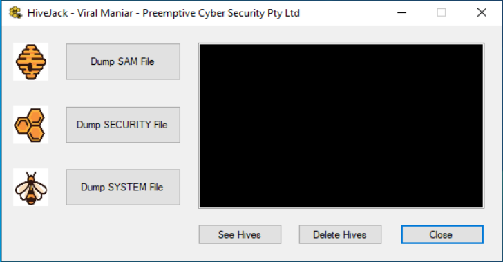 HiveJack : Internal Penetration Testing To Dump Windows Credentials