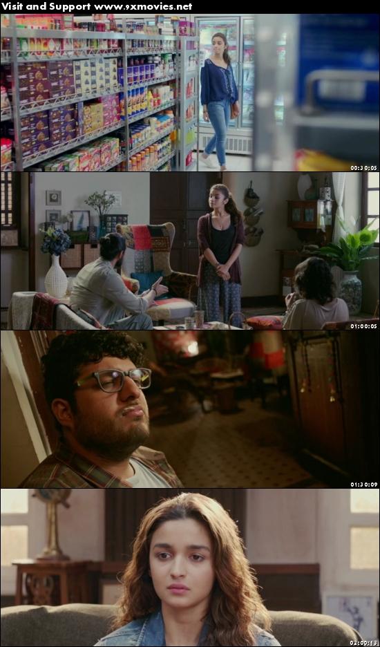 Dear Zindagi 2016 Hindi 480p BluRay
