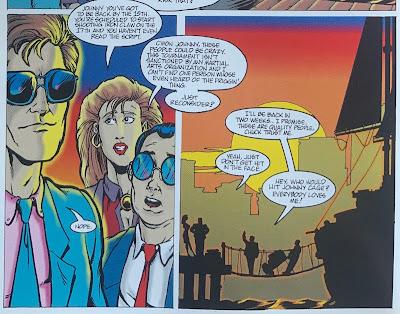 Johnny Cage - Fumetto MK1