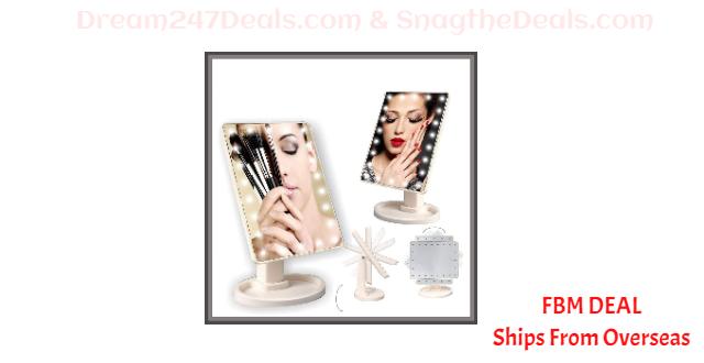 80% OFF Home Bathroom 360Degree Rotary Makeup Mirror