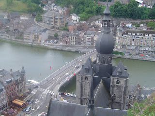 Dinant Church Travel Belgium History
