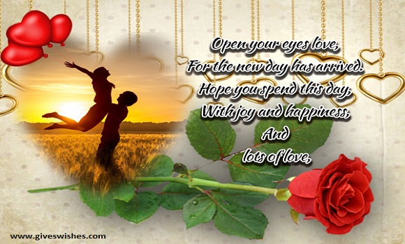 Best 35 Good Morning Quotes For Lover - Good Morning Message For Lover
