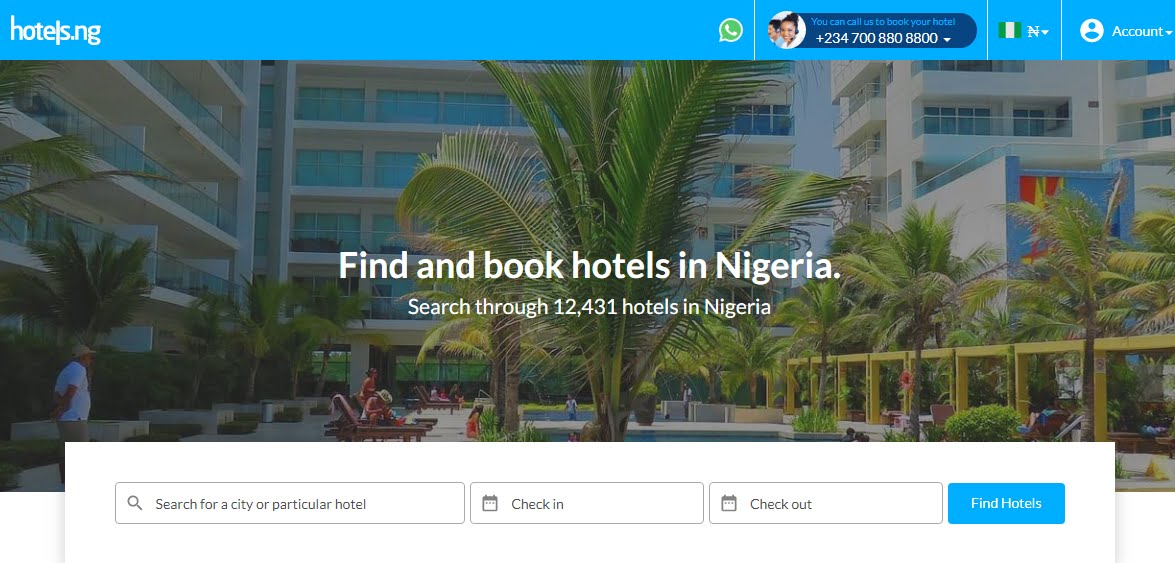 The best Online Hotel Booking Sites In Nigeria