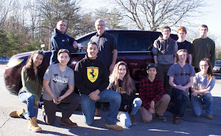 Franklin Ford Donates Car to Tri-County's Auto Technology Career Program