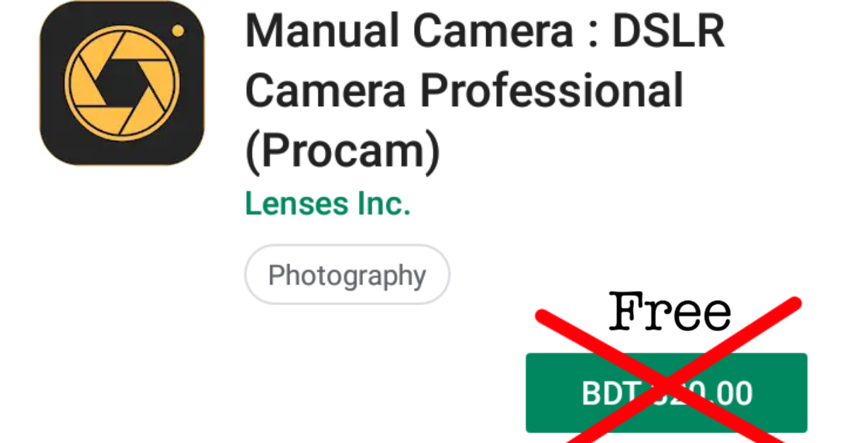 Manual Camera Pro Download - PTPYC