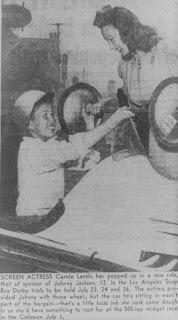Carole Landis Johnny Jackson 1947