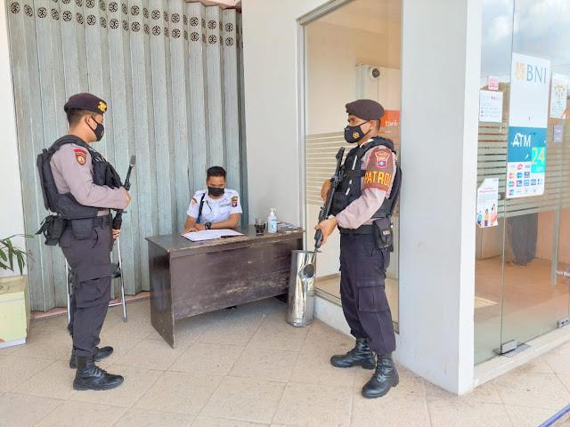 Unit patmor rusa Polres Lamandau Laksanakan patroli kota