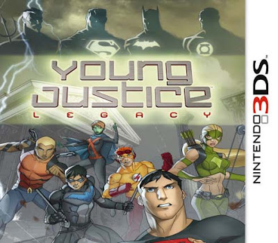 Young Justice Legacy CIA 3DS USA
