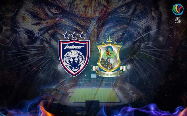Live Streaming JDT vs Boeung Ket Angkor FC 21.2.2017 AFC Cup