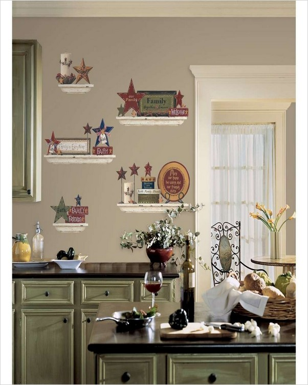 Rustic Kitchen Wall Decor Home Interior Exterior Decor Design Ideas