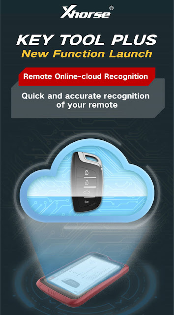 Xhorse Key Tool Plus Remote Online-cloud Recognition