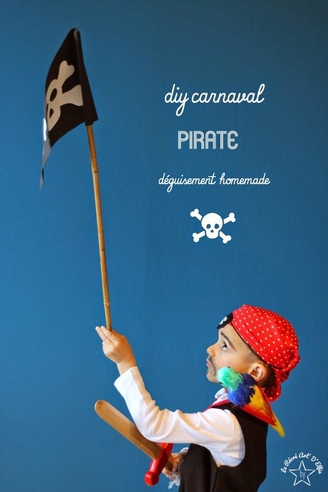 Gut gemocht Le Récréart Delfie: ⎨DIY⎬Se déguiser en pirate MZ22