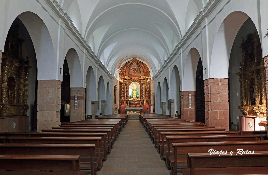 Interior de la Iglesia de Santa María la Mayor, Alcázar de San Juan
