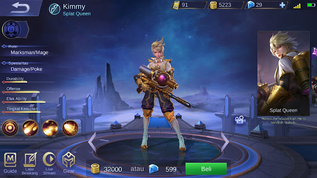 Marksman Terkuat di Mobile Legends Season 11 Kimmy