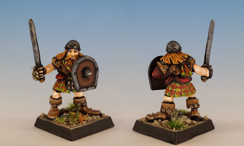 Talisman Highlander, Citadel Miniatures (1987, sculpted by Aly Morrison)