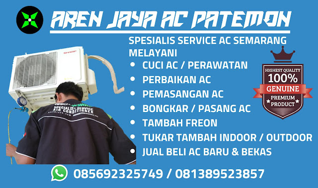 Harga Jasa Service AC Semarang Barat