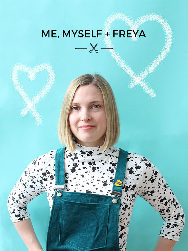 Me, myself + Freya - sewing pattern by Tilly and the Buttons