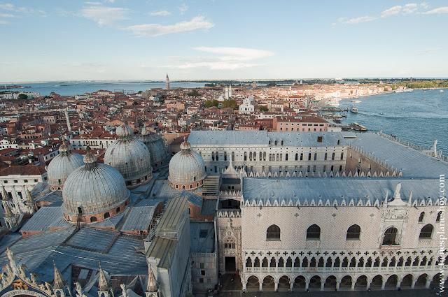 Vistas Campanile Venecia mejor mirador Italia
