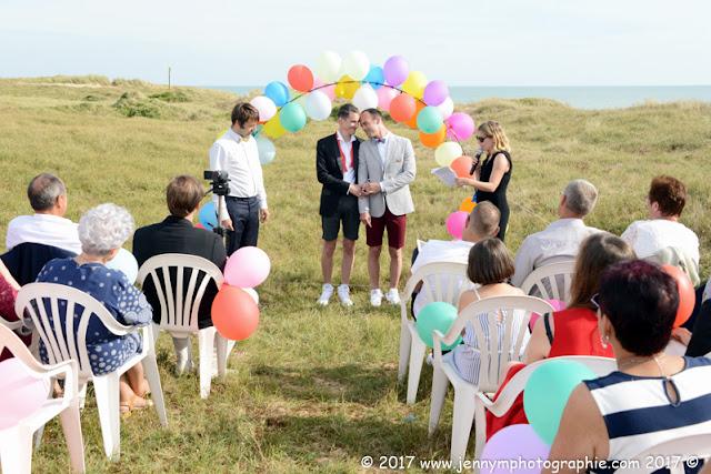 photographe cérémonie laïque mariage gay amour tendresse