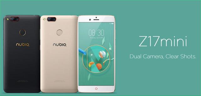 Cara Screenshot layar ponsel Nubia Z17 Mini