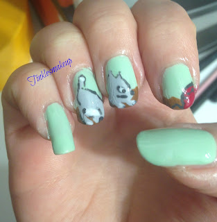 playful_kitty_nail_art