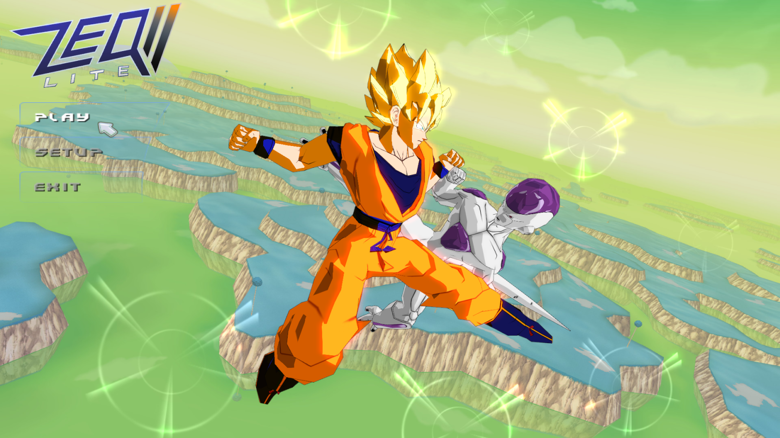 شرح تحميل وتتبيث لعبة Dragon ball z ZEQ2  مضغوطة بحجم 212 MB