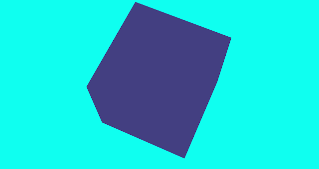 three.js library hello world javascript