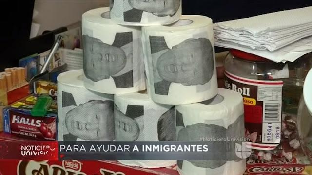 Abogado mexicano sacará al mercado el Papel Higiénico Trump; 'una suavidad sin fronteras'