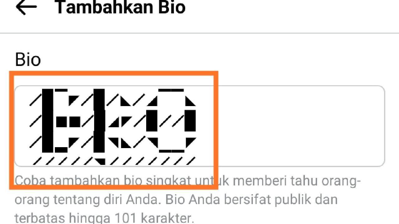 Bio Fb Keren Mobile legend