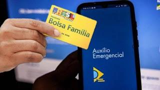 Beneficiários do Bolsa Família recebem auxílio emergencial nesta segunda