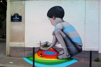 "Street Art : Julien ""Seth"" Malland, le globe-painter"
