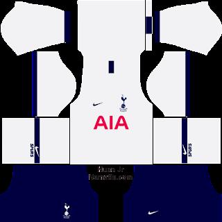 Download Kit DLS Tottenham Hotspur Lengkap