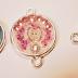 Différentes créations en résine : Cendrillon, Aurore et une licorne
