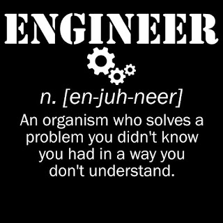 If you know an engineer send this to them..