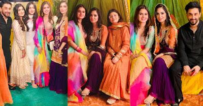 Hira and Mani beautiful Clicks from Friend's Dholki Night