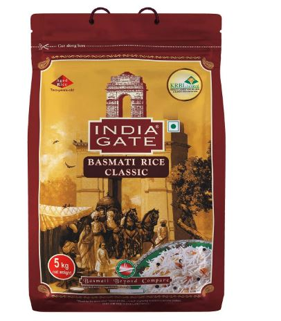 INDIA GATE Classic Basmati Rice 5 kg Pack
