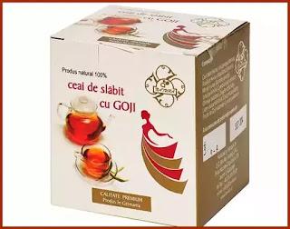ceai de slabit cu Goji pareri forum contraindicații