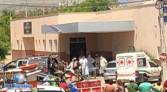 Três assaltantes são mortos em troca de tiros com o GTO sob comandado de Major Brilhante em Umarizal