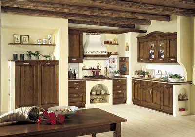 cucina-cucina in muratura-arredo