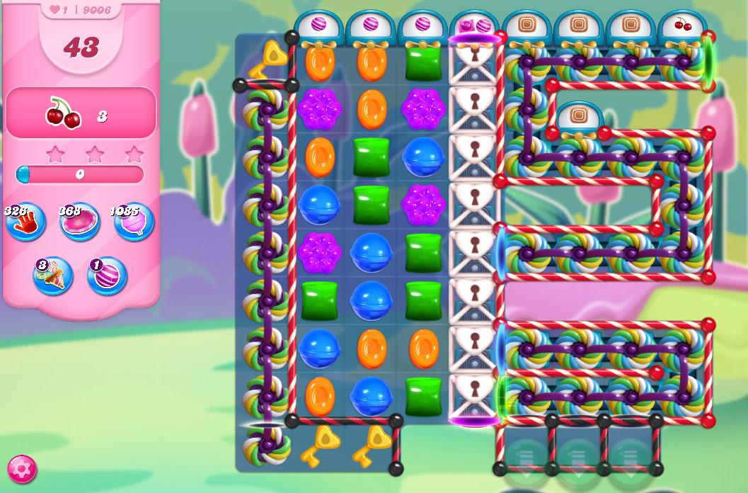 Candy Crush Saga level 9006